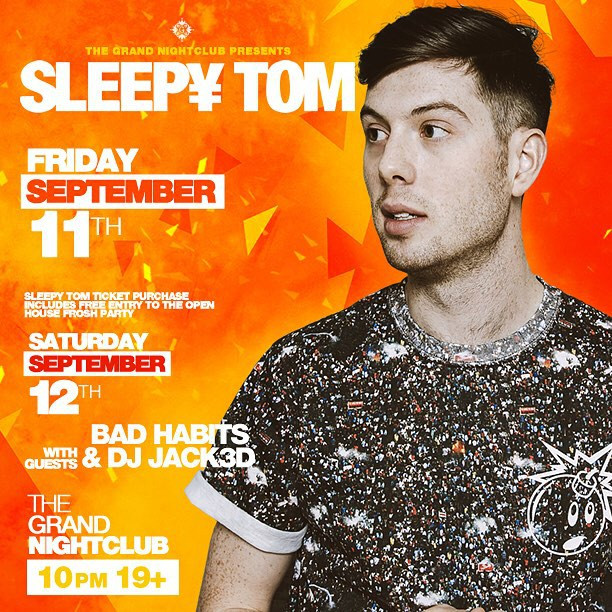 I can't wait for this Sleepy Tom show !?