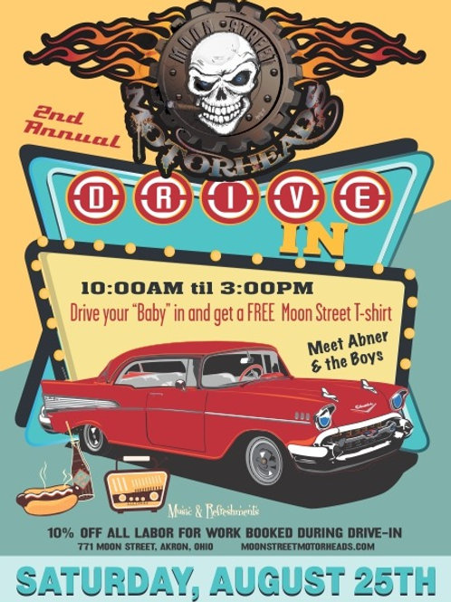 2018 MSMH Drive In Poster
