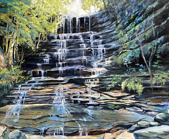 Federal Falls At Lawson 83x101cm