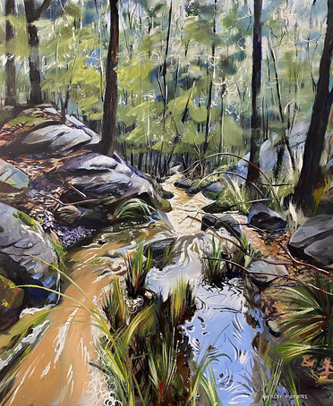 On Way To Nepean 101x83cm