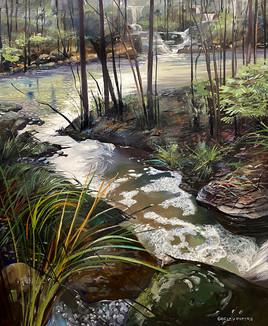 New Waterways At Mulgoa 101x83cm