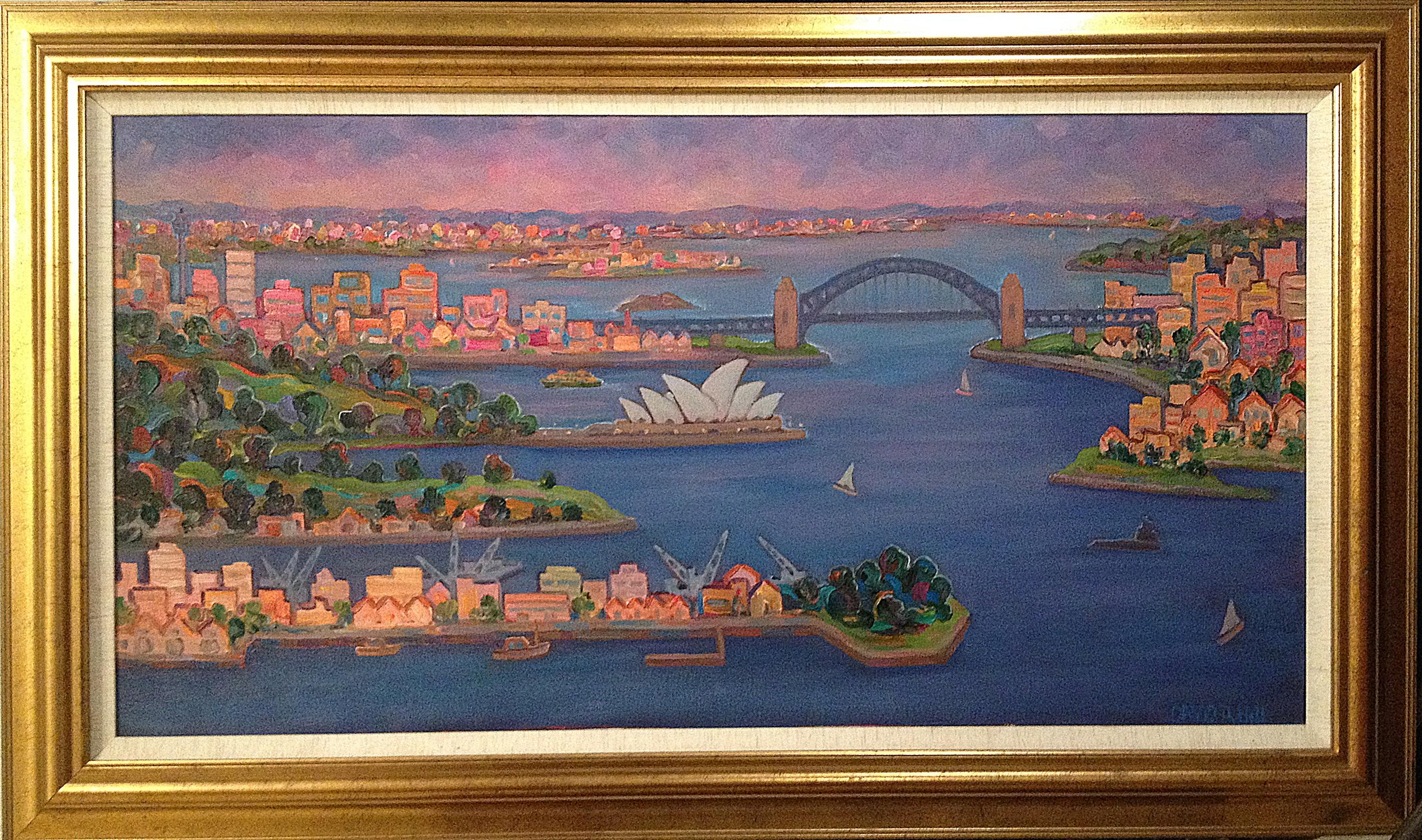 Sydney Harbour, Dusk Looking West