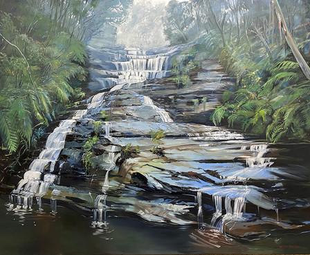Katoomba Cascades 83x101cm