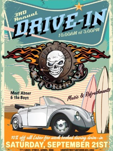 2019 MSMH Drive In Poster