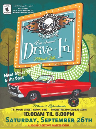 2020 MSMH Drive In Poster