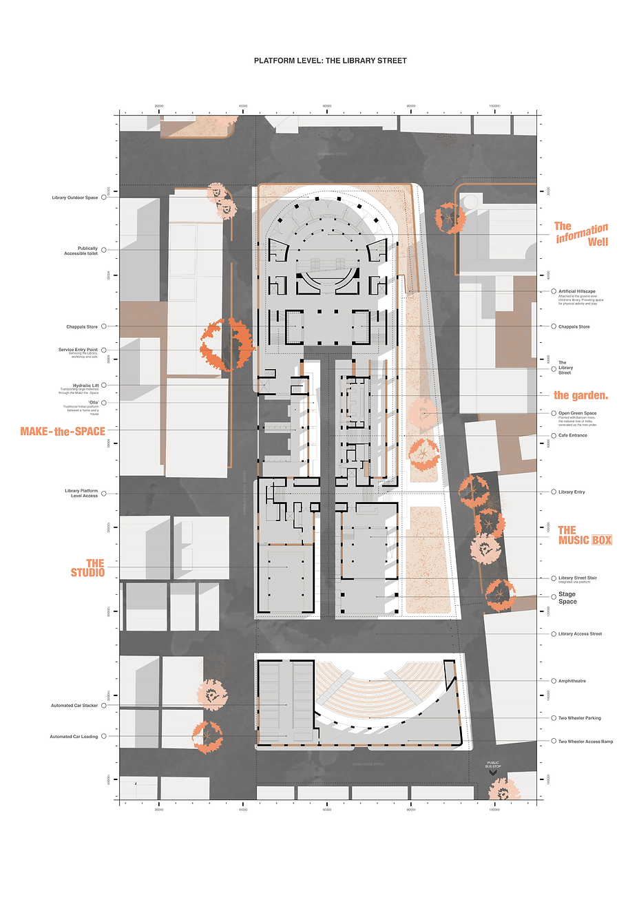 The Library Street (First Floor Plan)