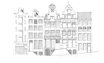 Canal House Street Elevation