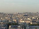 Centre Pomidou  butte Montmartre summit