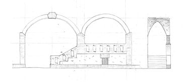 Beurs Van Berlage Aperture Elevation and Section