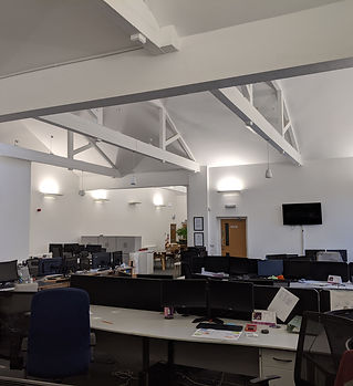 Cloud Electronics ceiling speakers fitted in Lendle Bolton by Hollowsphere AV