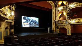 Cinema Screen Digital Projector