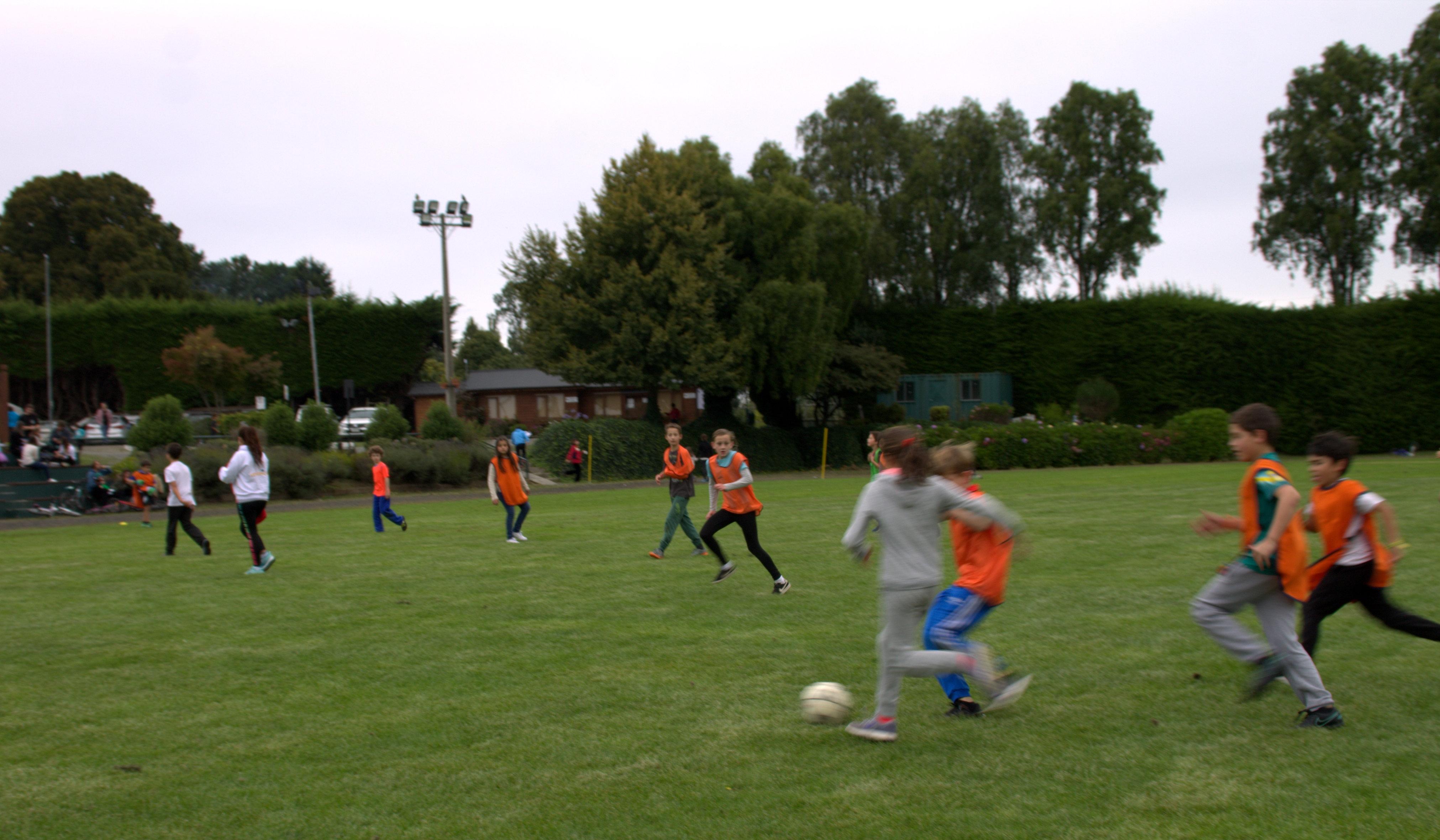 mujeres futbolito