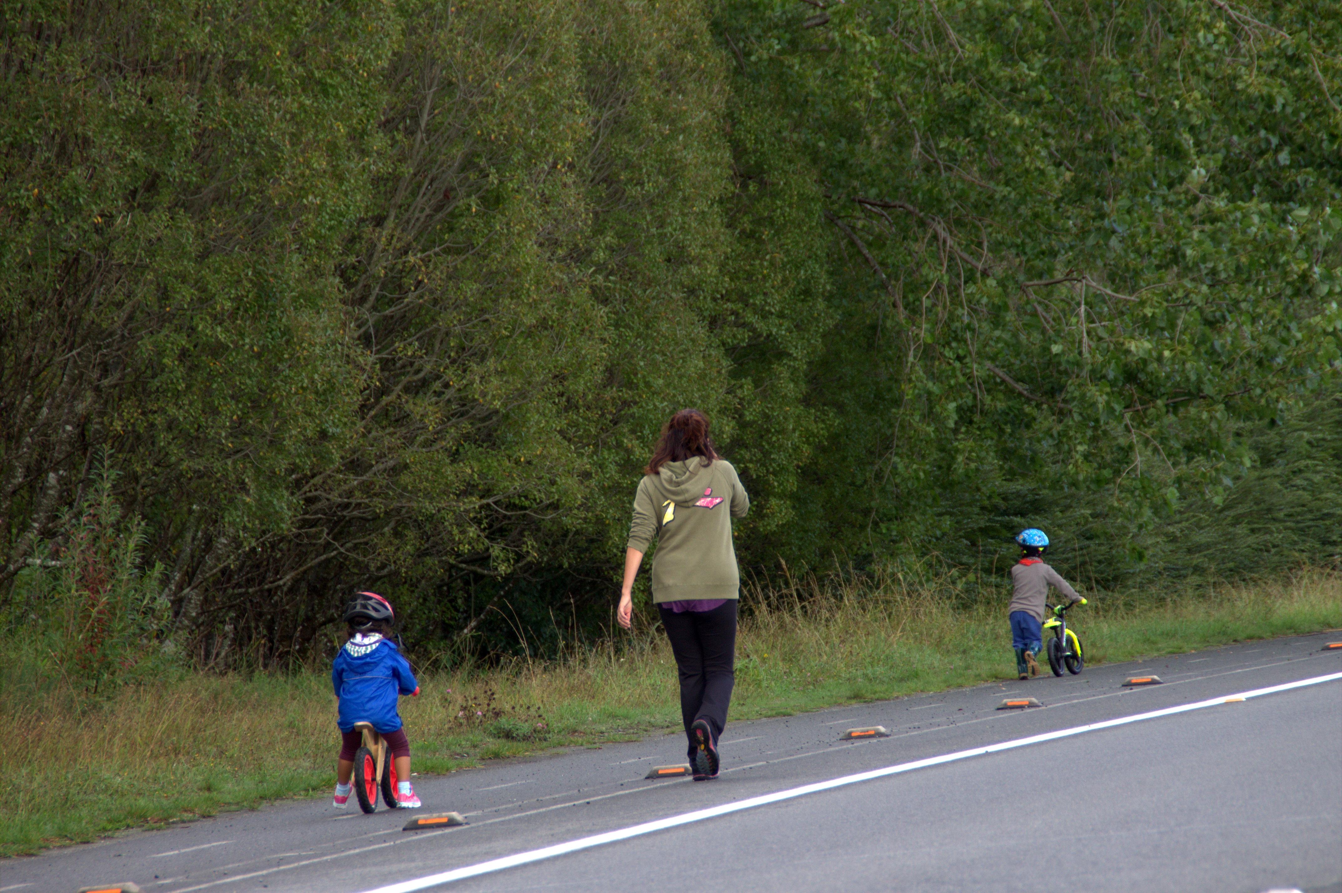 los primeros pasos en ciclismo