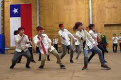 la danza con fuerza masculina