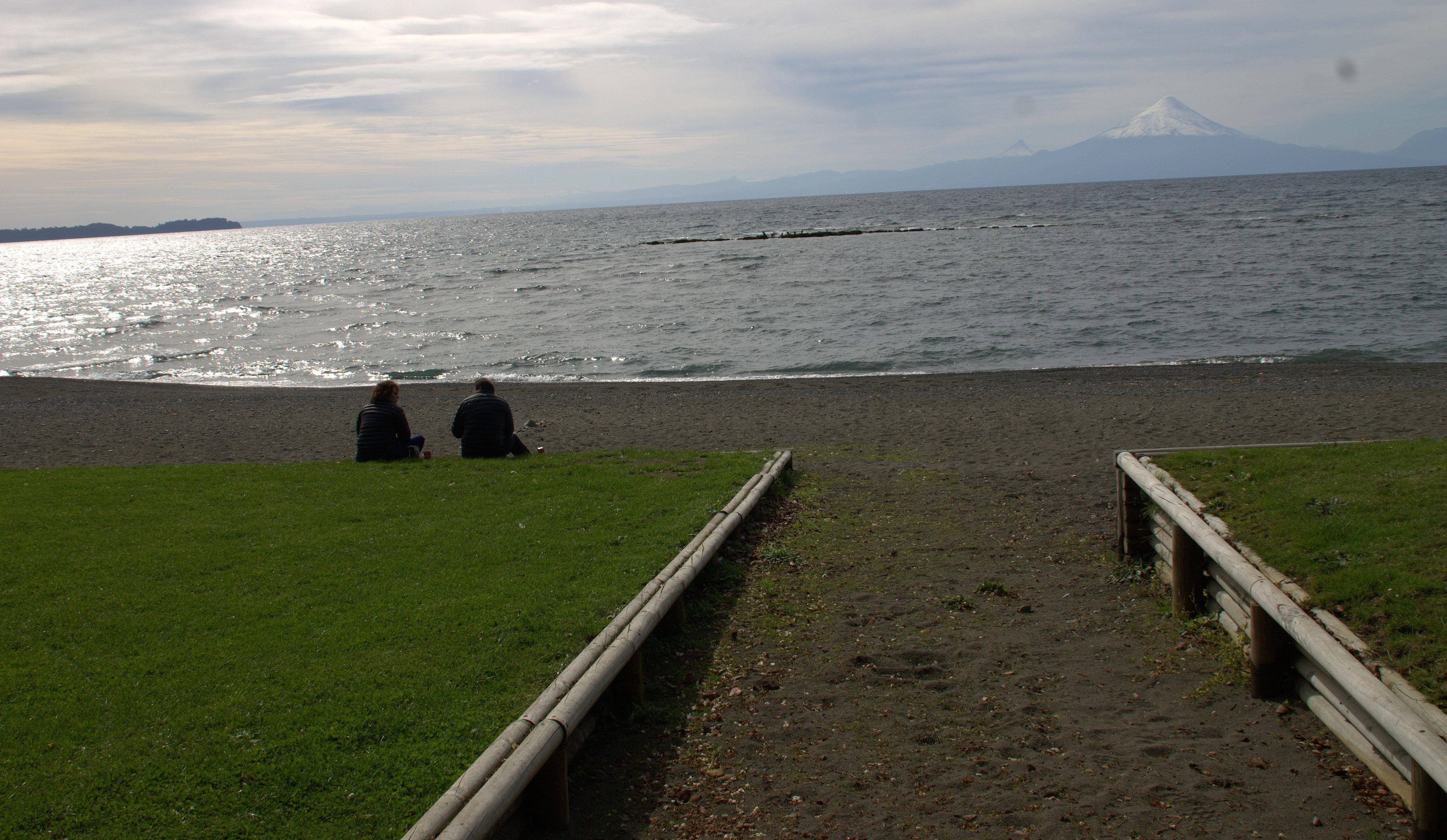 aporvechando la tarde en el Lago