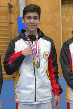 triple medallista de Puerto Montt