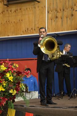 director banda Club Harmonie Loncotoro