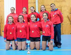 ganadoras Torneo Liga Escolar de Voleybol