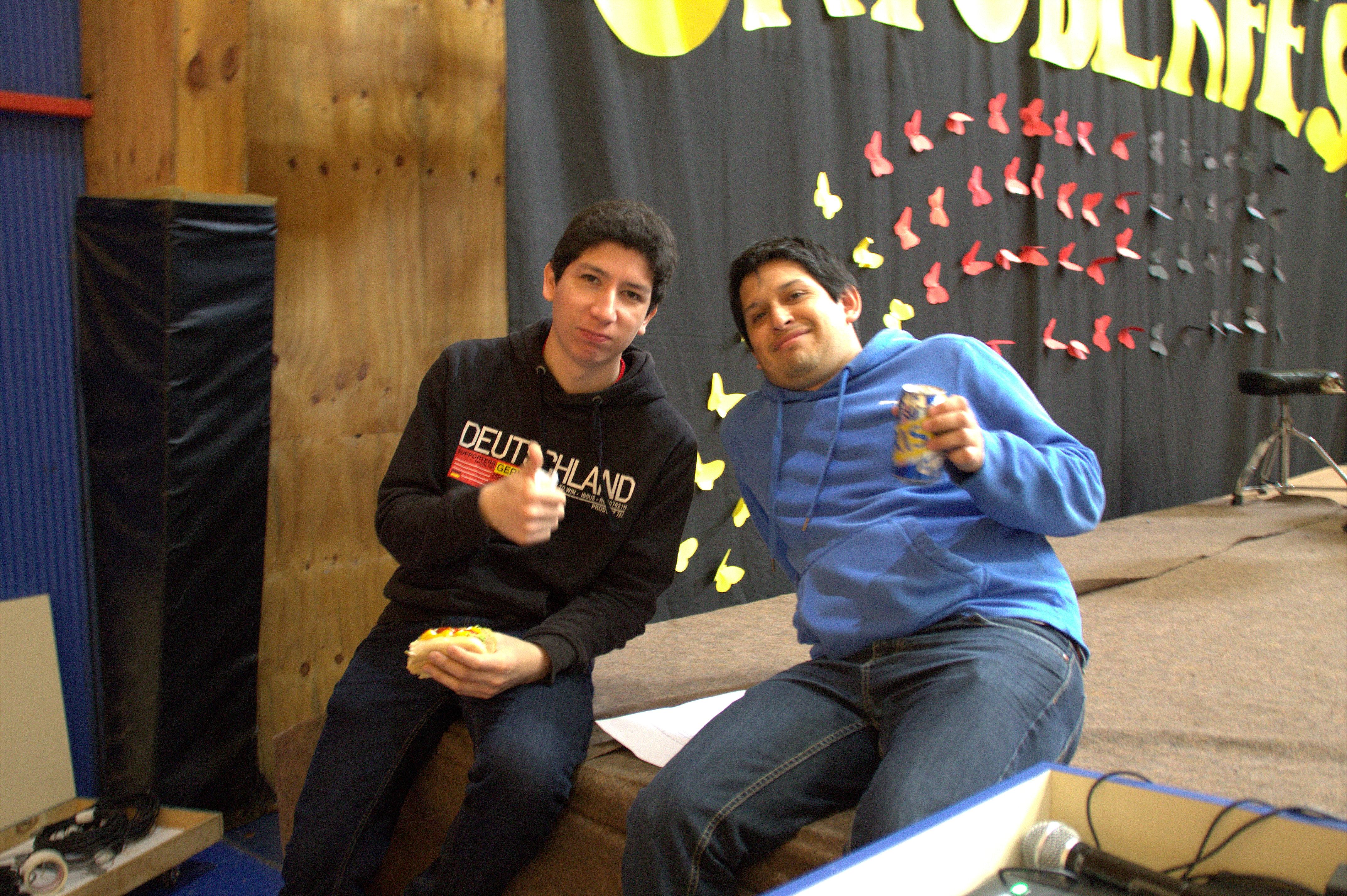 saludos con cerveza sin alcohol..