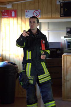 bombero expositor