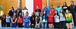 Las premiada con medallas a las mejores jugadoras y mejor equipo deportivo