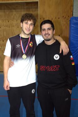 medallista como jugador DSPV
