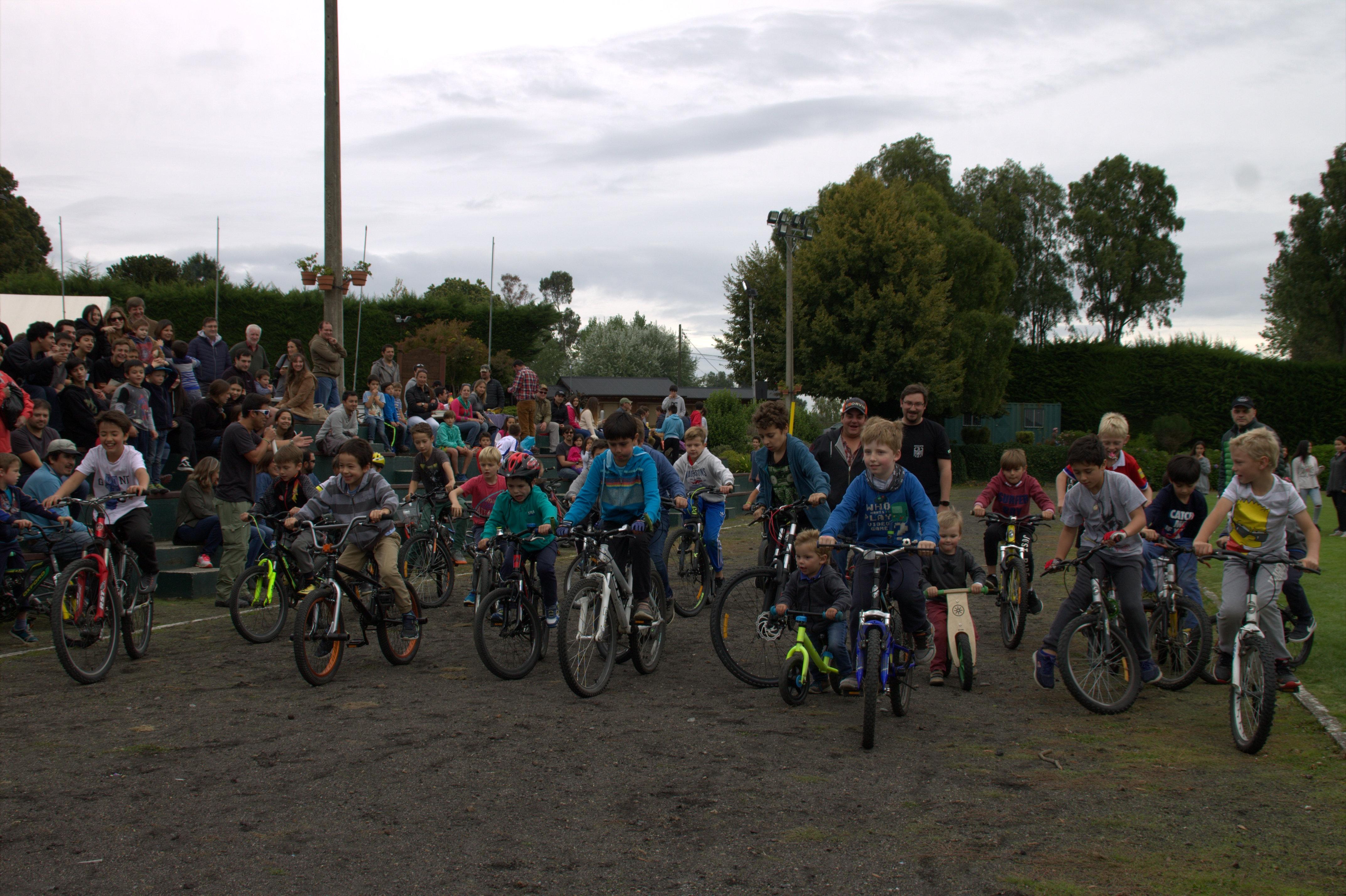 segunda carrera ciclistas