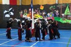 777saludando a la Bandera Chilena