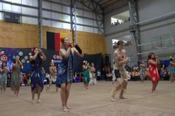 cierre baile Rapa Nui