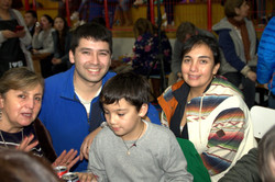 Familia Espinoza Castillo encuadrada....