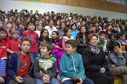 7Celebrando alumnos y rectora