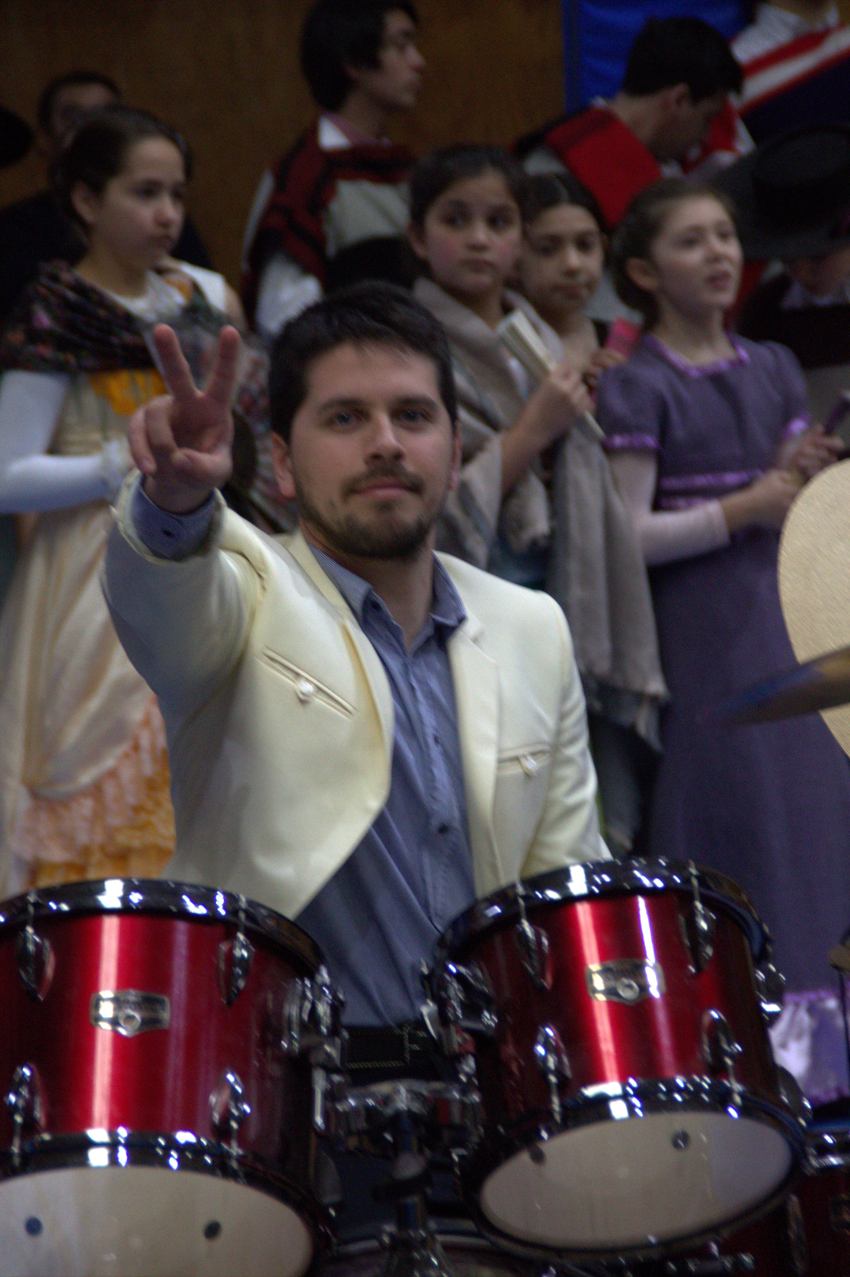 El baterista