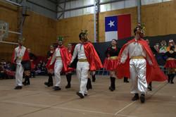 Baile de la Diablada. Caporales.