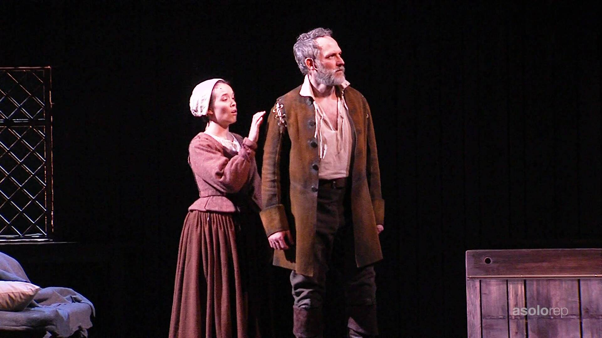 THE CRUCIBLE runs thru March 10.