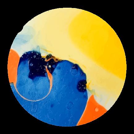 抽象的な色4