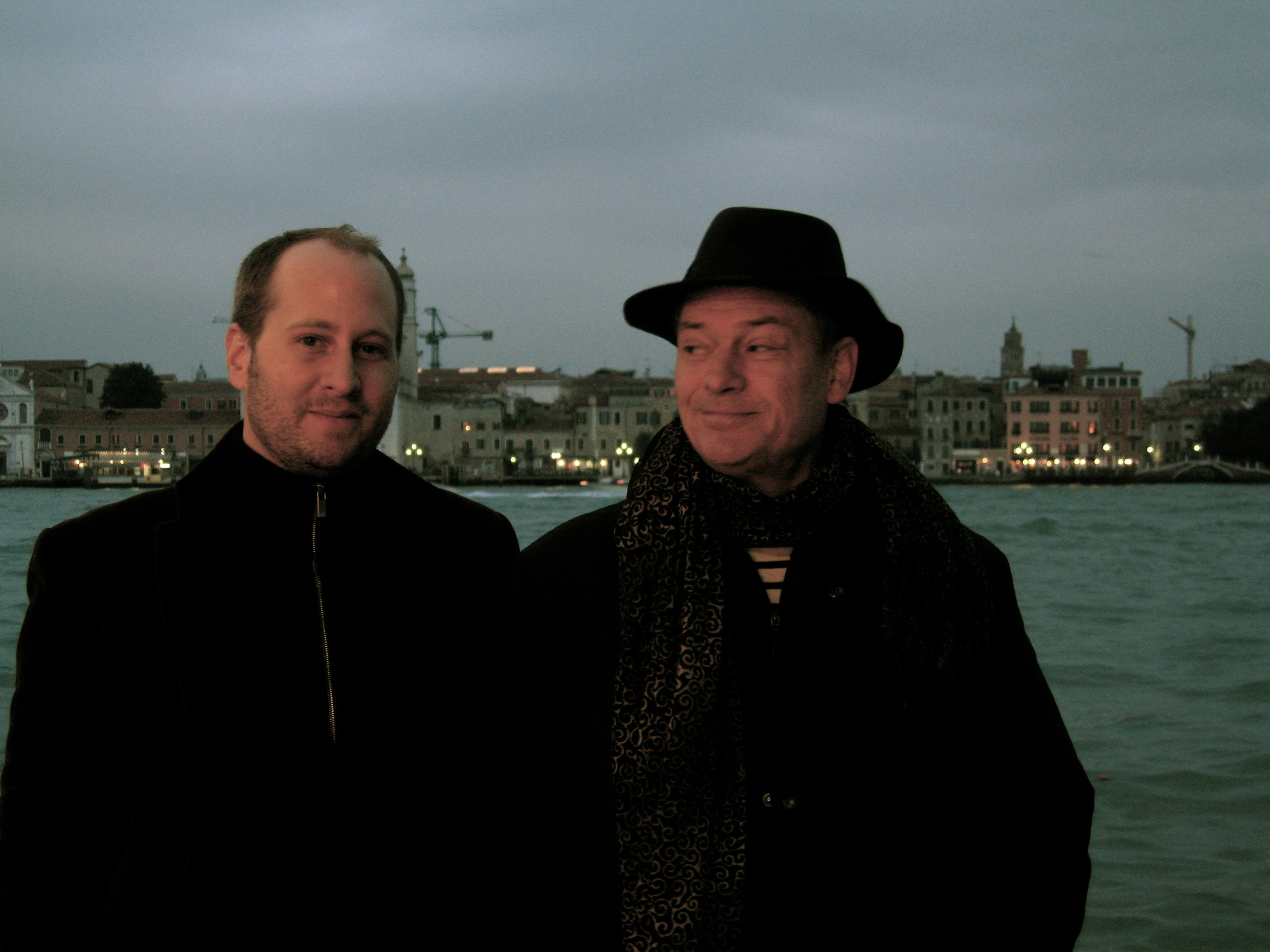 Mit Gunther Klatt, Venedig