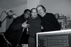 Mit Ronnie Burrage & Leo Gmelch