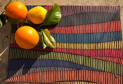 set de table Afrique