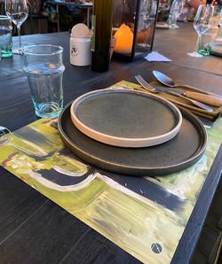 set de table Daure Beziers