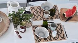 Set de table papier Kraft