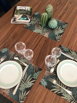 Set de table papier Jungle