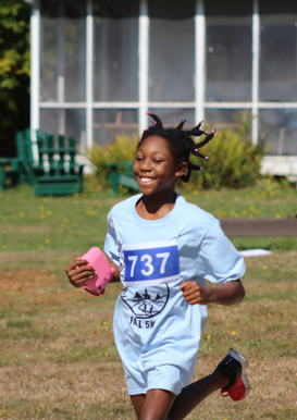 Running the race with a smile