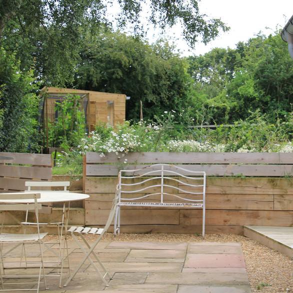 Norfolk Holiday House Garden