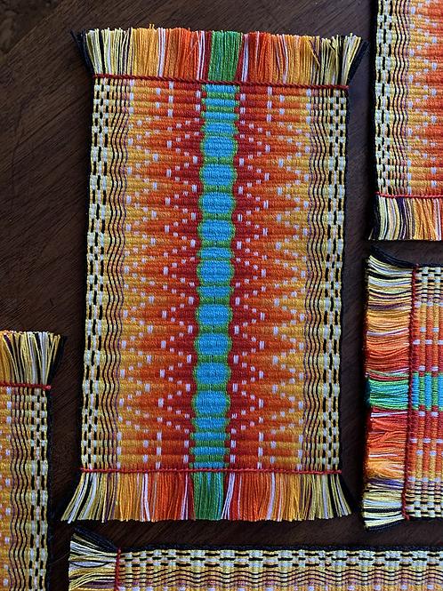 Sun Gazer Pattern Display Mat