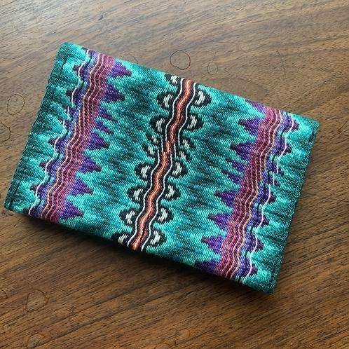 Healing steps folded credit card wallet