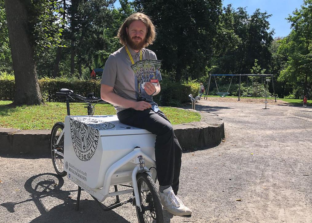 David Knor, Koordinator für Nahmobilität in der Stabsstelle Klima & Mobilität der Stadt Recklinghausen
