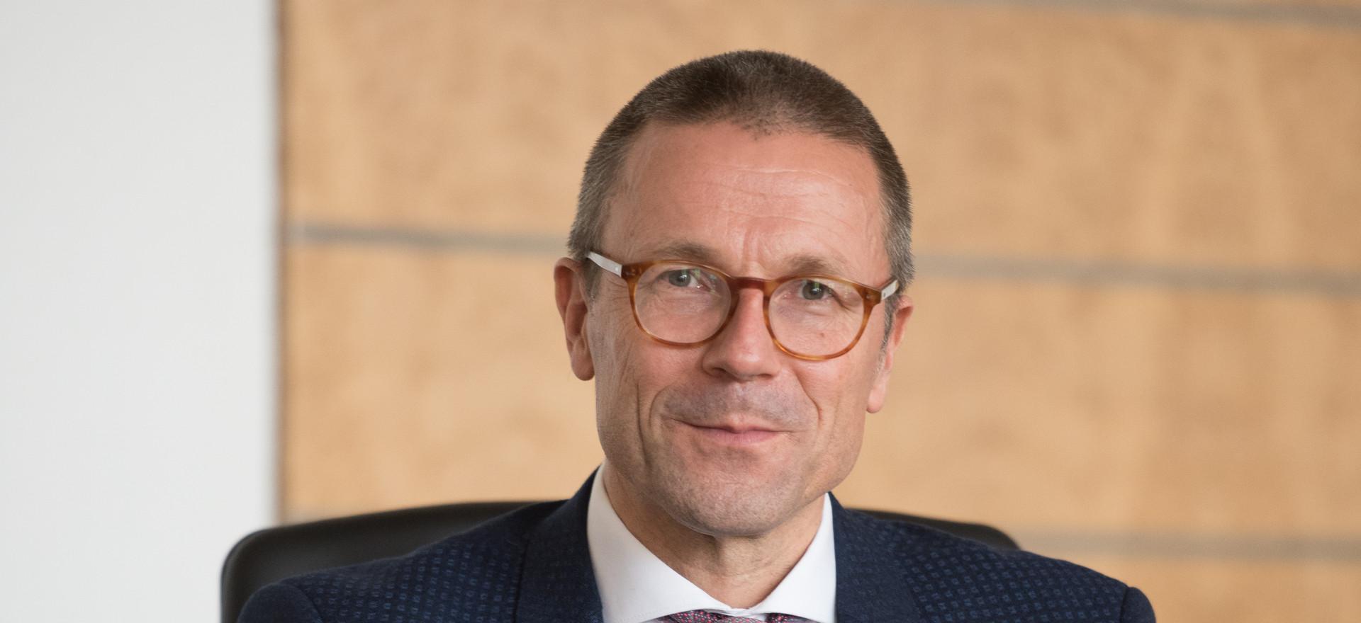 Uwe Schneidewind, Oberbürgermeister der Stadt Wuppertal und ehemaliger Präsident des Wuppertal Instituts für Klima, Umwelt, Energie