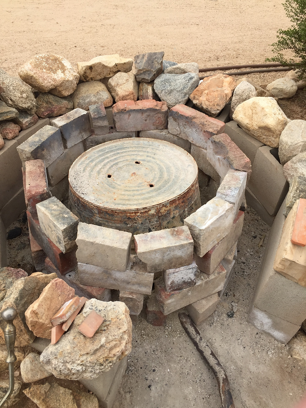 Mike Fagen's outdoor fire pit