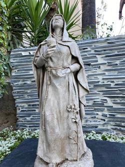 """St. Clare, Looking toward heaven"""