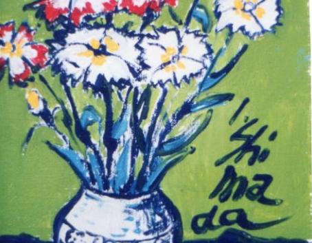 Carnation and vase